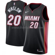Miami Heat Basket Tröja 2018 Justise Winslow 20# Icon Edition..